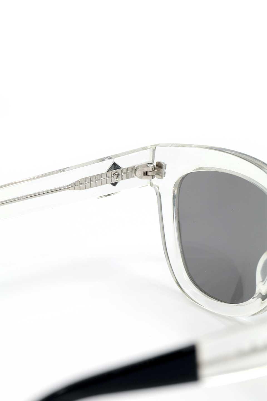 WONDERLANDのCOLONY(03-Clear/GrayLens)コロニー・セルフレーム・サングラス/WONDERLANDのメガネ・サングラスや。アメリカ西海岸のレディースクロージングブランド「STONECOLDFOX」とのコラボレーションモデルです。より女性らしいラウンドしたフレームと特徴的な大きなレンズは、クールな女性を演出してくれると同時に小顔効果が望めます。/main-8