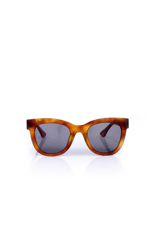 WONDERLANDのCOLONY(10-Havana/GreyLens)コロニー・セルフレーム・サングラス/WONDERLANDのメガネ・サングラスや。アメリカ西海岸のレディースクロージングブランド「STONECOLDFOX」とのコラボレーションモデルです。より女性らしいラウンドしたフレームと特徴的な大きなレンズは、クールな女性を演出してくれると同時に小顔効果が望めます。