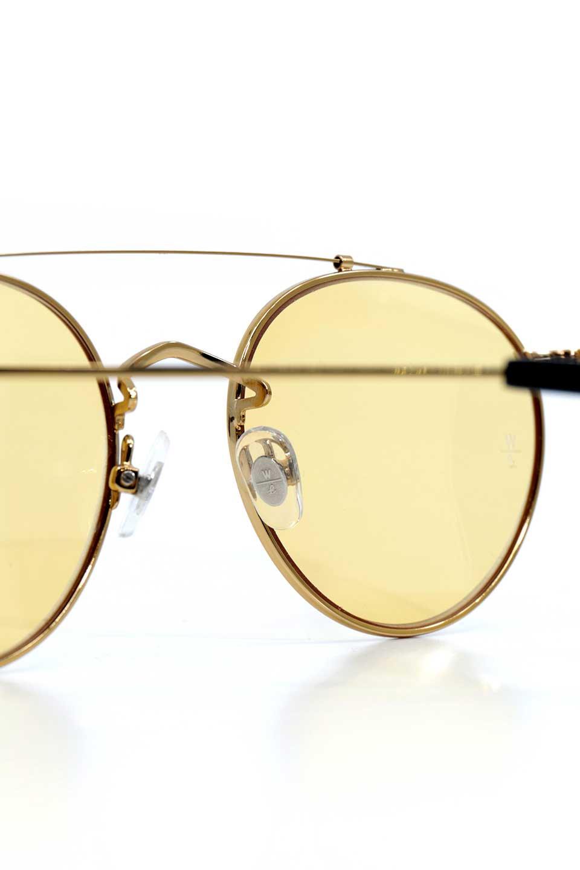 WONDERLANDのINDIO(08-Gold/L.YellowLens)インディオ・メタルフレーム・サングラス/WONDERLANDのメガネ・サングラスや。WONDERLANDのラインナップで最もクラシックな作りの