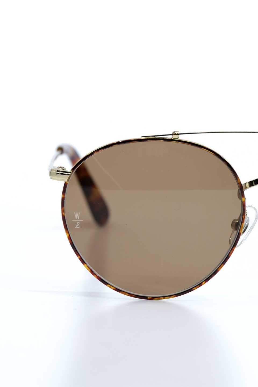 WONDERLANDのINDIO(03-Tort/BronzeLens)インディオ・メタルフレーム・サングラス/WONDERLANDのメガネ・サングラスや。WONDERLANDのラインナップで最もクラシックな作りの