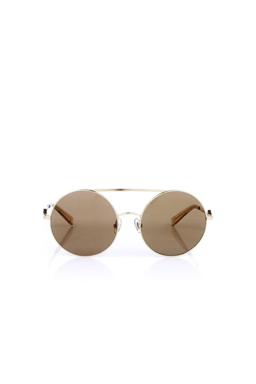 WONDERLANDのBLYTHE(03-Gold/BronzeLens)ブライス・メタルフレーム・サングラス/WONDERLANDのメガネ・サングラスや。INDIOより大きめのラウンドグラスを採用した女性向けモデル「BLYTHE/ブライス」WONDERLANDの中でもSUNCITYの次に大きいグラスを採用し、同じラウンド型サングラスのINDIOやSTATELINEとは異なる特徴的なデザインです。ブリッジ部分はSTATELINEやINDIOと同様「ツーブリッジ」を採用。
