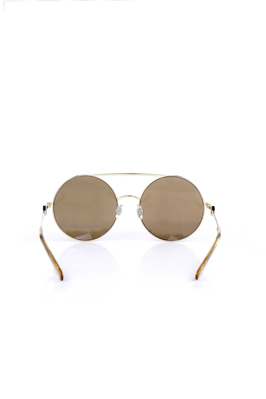 WONDERLANDのBLYTHE(03-Gold/BronzeLens)ブライス・メタルフレーム・サングラス/WONDERLANDのメガネ・サングラスや。INDIOより大きめのラウンドグラスを採用した女性向けモデル「BLYTHE/ブライス」WONDERLANDの中でもSUNCITYの次に大きいグラスを採用し、同じラウンド型サングラスのINDIOやSTATELINEとは異なる特徴的なデザインです。ブリッジ部分はSTATELINEやINDIOと同様「ツーブリッジ」を採用。/main-4
