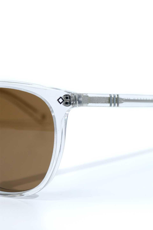 WONDERLANDのBARSTOW(05-Clear/BronzeLens)バーストー・セルフレーム・サングラス/WONDERLANDのメガネ・サングラスや。WONDERLANDの定番品番のアップデートフレーム
