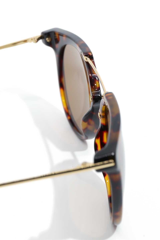 WONDERLANDのSTATELINE(02-Tortoise/BronzeLens)ステイトライン・メタルフレーム・サングラス/WONDERLANDのメガネ・サングラスや。WONDERLANDのコレクションの中で、アメリカ、日本共にロングセラーモデルとなっているアイコニックモデル