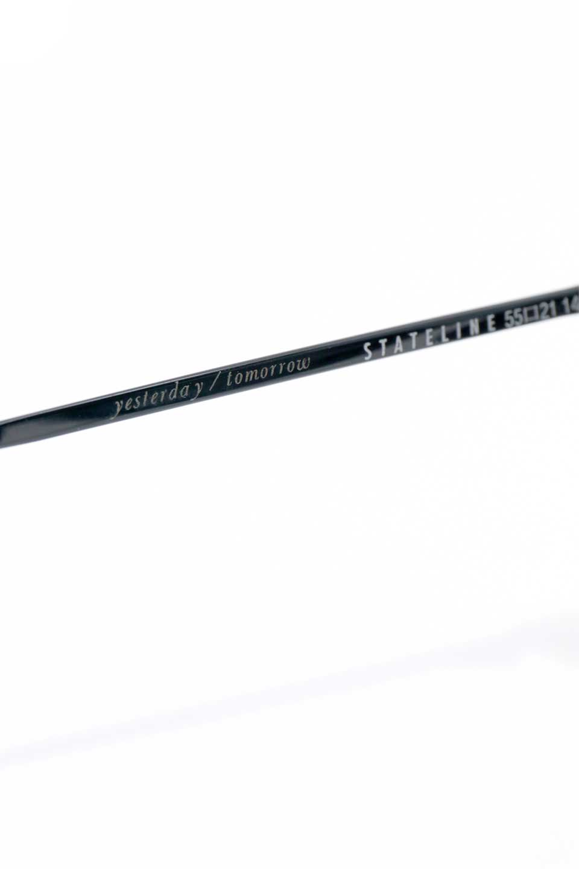 WONDERLANDのSTATELINE(04-Black/GreyLens)ステイトライン・メタルフレーム・サングラス/WONDERLANDのメガネ・サングラスや。WONDERLANDのコレクションの中で、アメリカ、日本共にロングセラーモデルとなっているアイコニックモデル