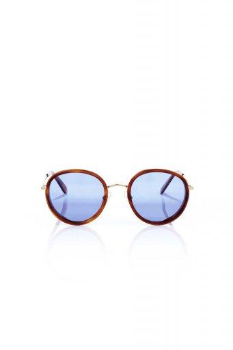 WONDERLANDのMONTCLAIR (06-Havana/Blue Lens) モンクレール・メタルフレーム・サングラス / 大人カジュアルに最適な海外ファッションが得意な福島市のセレクトショップbloom