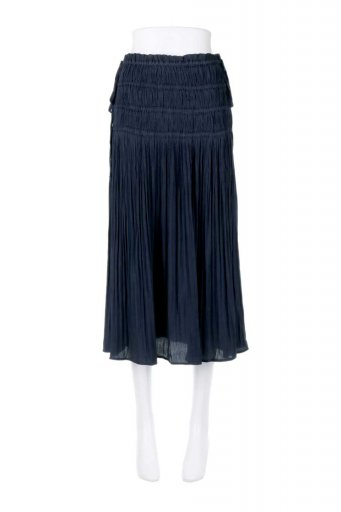 L.A.直輸入のPleated Midi Skirt プリーツ入りミディスカート  / 大人カジュアルに最適な海外ファッションが得意な福島市のセレクトショップbloom