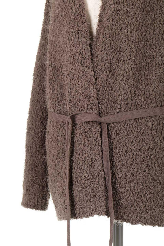L.A.直輸入のUltraPlushBeltSweaterCardiganもこもこニット・ガウンカーディガン大人カジュアルに最適な海外ファッションのothers(その他インポートアイテム)のトップスやニット・セーター。ふわふわもこもこのガウンタイプのカーディガン。大きく落ちたドロップショルダーに長めの袖で可愛らしさをアピール。/main-17