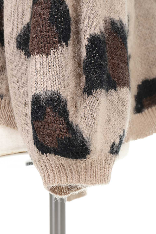 LeopardPatternMohairKnitTopレオパード柄・モヘアニットトップス大人カジュアルに最適な海外ファッションのothers(その他インポートアイテム)のトップスやニット・セーター。ゆるっとしたオーバーサイズ感とふわふわの表面感がかわいい総柄ニット。オーバーサイズの遊び心のある総柄ニットは、コーディネートの主役にぴったりの1枚です。/main-10