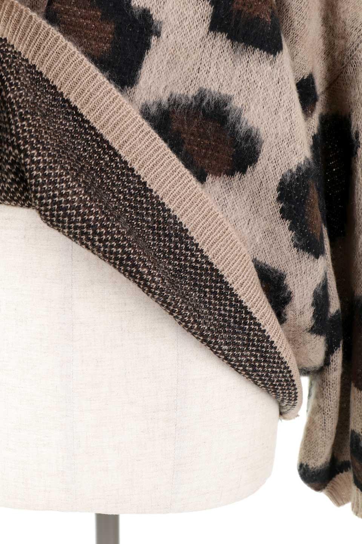 LeopardPatternMohairKnitTopレオパード柄・モヘアニットトップス大人カジュアルに最適な海外ファッションのothers(その他インポートアイテム)のトップスやニット・セーター。ゆるっとしたオーバーサイズ感とふわふわの表面感がかわいい総柄ニット。オーバーサイズの遊び心のある総柄ニットは、コーディネートの主役にぴったりの1枚です。/main-14