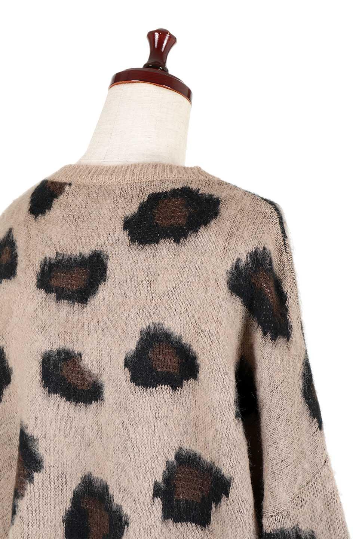 LeopardPatternMohairKnitTopレオパード柄・モヘアニットトップス大人カジュアルに最適な海外ファッションのothers(その他インポートアイテム)のトップスやニット・セーター。ゆるっとしたオーバーサイズ感とふわふわの表面感がかわいい総柄ニット。オーバーサイズの遊び心のある総柄ニットは、コーディネートの主役にぴったりの1枚です。/main-6