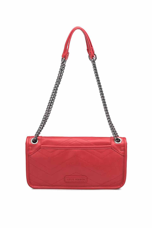 meliebiancoのAndie(Red)キルティングレザー・ショルダーバッグ/海外ファッション好きにオススメのインポートバッグとかばん、MelieBianco(メリービアンコ)のバッグやショルダーバッグ。meliebianco(メリービアンコ)の2019年春夏の新作になります。メリービアンコ自慢のビーガンレザーを使用したアニマルフレンドリーなアイテム。/main-6