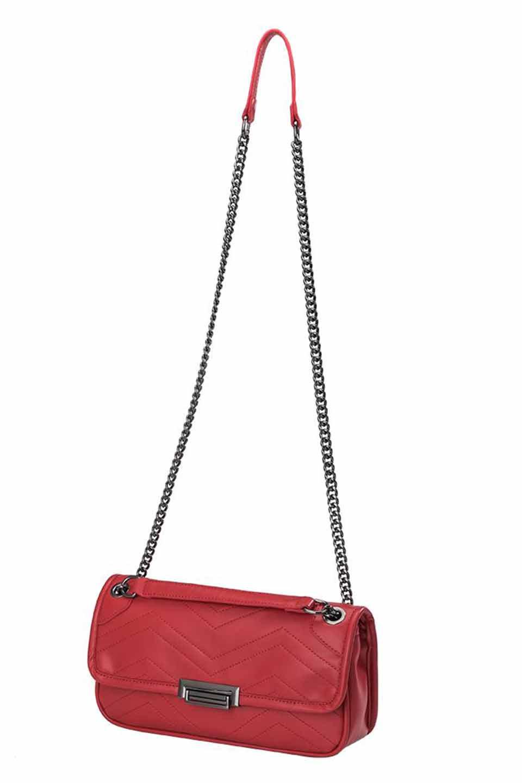 meliebiancoのAndie(Red)キルティングレザー・ショルダーバッグ/海外ファッション好きにオススメのインポートバッグとかばん、MelieBianco(メリービアンコ)のバッグやショルダーバッグ。meliebianco(メリービアンコ)の2019年春夏の新作になります。メリービアンコ自慢のビーガンレザーを使用したアニマルフレンドリーなアイテム。/main-7