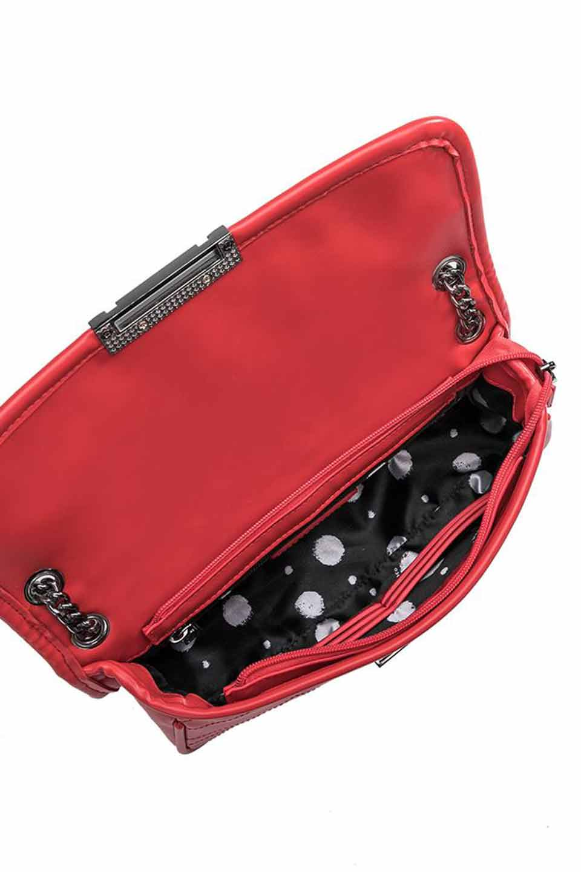 meliebiancoのAndie(Red)キルティングレザー・ショルダーバッグ/海外ファッション好きにオススメのインポートバッグとかばん、MelieBianco(メリービアンコ)のバッグやショルダーバッグ。meliebianco(メリービアンコ)の2019年春夏の新作になります。メリービアンコ自慢のビーガンレザーを使用したアニマルフレンドリーなアイテム。/main-8