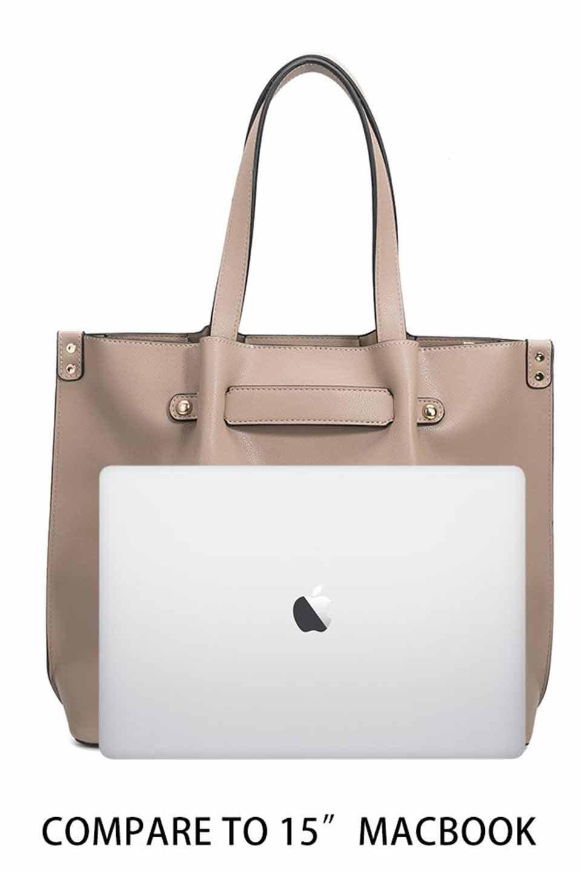 meliebiancoのSarah(Nude)スムースレザー・トートバッグ/海外ファッション好きにオススメのインポートバッグとかばん、MelieBianco(メリービアンコ)のバッグやトートバッグ。meliebianco(メリービアンコ)の2019年春夏の新作になります。メリービアンコ自慢のビーガンレザーを使用したアニマルフレンドリーなアイテム。/main-7