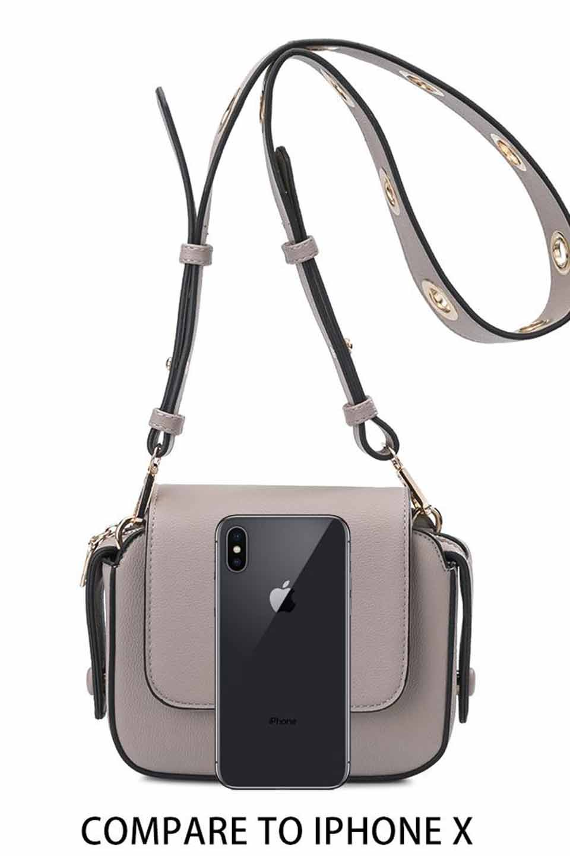 meliebiancoのKim(Taupe)リングストラップ・ショルダーバッグ/海外ファッション好きにオススメのインポートバッグとかばん、MelieBianco(メリービアンコ)のバッグやショルダーバッグ。meliebianco(メリービアンコ)の2019年春夏の新作になります。メリービアンコ自慢のビーガンレザーを使用したアニマルフレンドリーなアイテム。/main-6