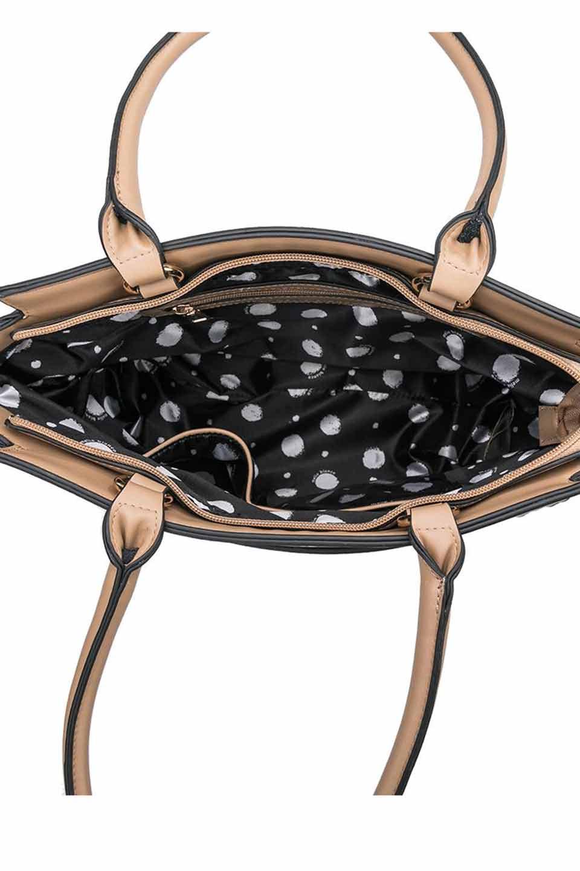 meliebiancoのElizabeth(Nude)ロングハンドル・2Wayハンドバッグ/海外ファッション好きにオススメのインポートバッグとかばん、MelieBianco(メリービアンコ)のバッグやハンドバッグ。meliebianco(メリービアンコ)の2019年春夏の新作になります。メリービアンコ自慢のビーガンレザーを使用したアニマルフレンドリーなアイテム。/main-5