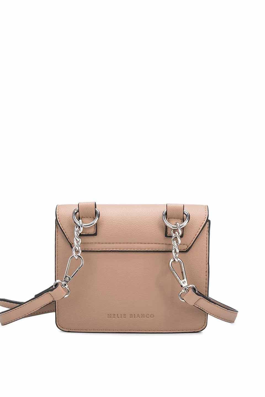 meliebiancoのLara(Nude)ロングストラップ・スクエアショルダーバッグ/海外ファッション好きにオススメのインポートバッグとかばん、MelieBianco(メリービアンコ)のバッグやハンドバッグ。meliebianco(メリービアンコ)の2019年春夏の新作になります。メリービアンコ自慢のビーガンレザーを使用したアニマルフレンドリーなアイテム。/main-5