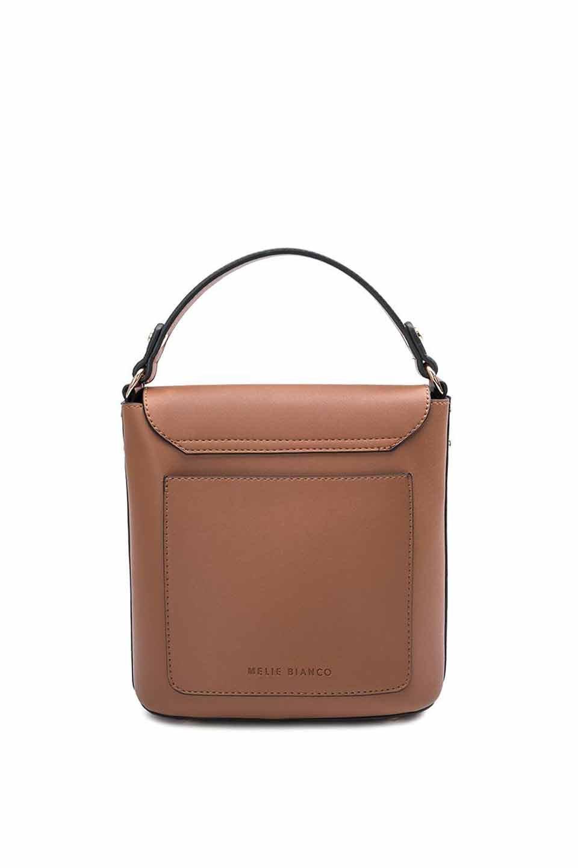 meliebiancoのRemy(Saddle)スクエア・ミニハンドバッグ/海外ファッション好きにオススメのインポートバッグとかばん、MelieBianco(メリービアンコ)のバッグやショルダーバッグ。meliebianco(メリービアンコ)の2019年春夏の新作になります。メリービアンコ自慢のビーガンレザーを使用したアニマルフレンドリーなアイテム。/main-5