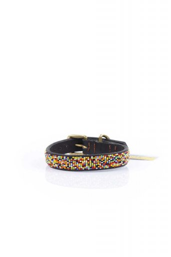THE KENYAN COLLECTIONのConfetti Beaded Dog Collar 12