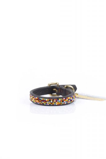 THE KENYAN COLLECTIONのConfetti Beaded Dog Collar 8