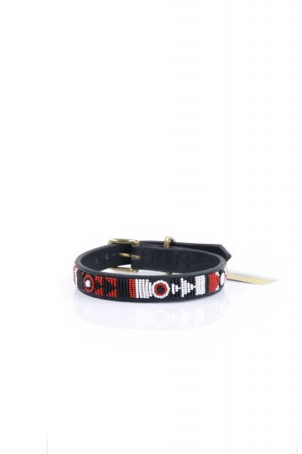 THE KENYAN COLLECTIONのMaasai Shield Beaded Dog Collar 14