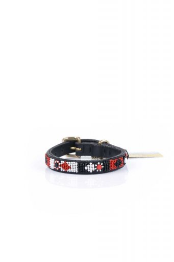 THE KENYAN COLLECTIONのMaasai Shield Beaded Dog Collar 10