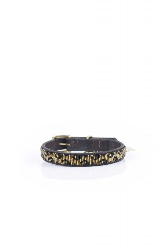 THE KENYAN COLLECTIONのLeopard Beaded Dog Collar 14