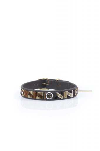 THE KENYAN COLLECTIONのEarth Beaded Dog Collar 18