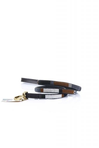 THE KENYAN COLLECTIONのOryx Beaded Dog Leash 1/2