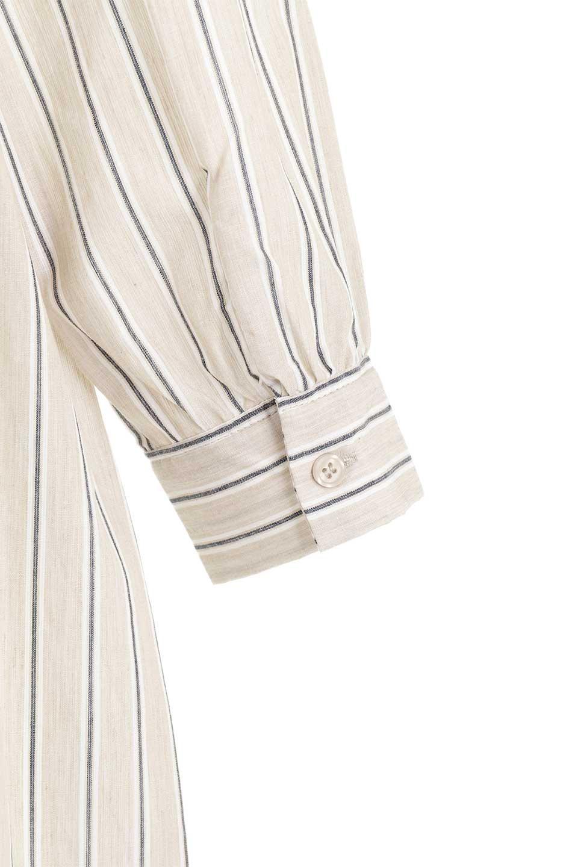 Multi-StripedLongSleeveLoseDressマルチストライプ・ワンピース大人カジュアルに最適な海外ファッションのothers(その他インポートアイテム)のワンピースやミディワンピース。春らしいカラーリングが目を引くマルチストライプのワンピース。張りのある生地で初夏まで着回せる素材感です。/main-29