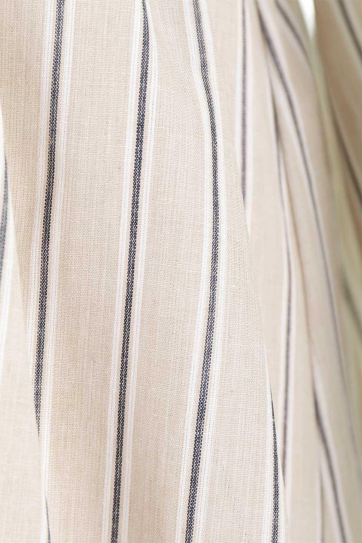 Multi-StripedLongSleeveLoseDressマルチストライプ・ワンピース大人カジュアルに最適な海外ファッションのothers(その他インポートアイテム)のワンピースやミディワンピース。春らしいカラーリングが目を引くマルチストライプのワンピース。張りのある生地で初夏まで着回せる素材感です。/main-31