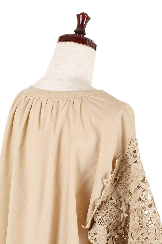CutworkSleeveBlouseカットワークスリーブ・9分袖ブラウス大人カジュアルに最適な海外ファッションのothers(その他インポートアイテム)のトップスやシャツ・ブラウス。袖のカットワークレースが春気分を盛り上げる9分袖ブラウス。ゆったりとしたボックス型のシルエットをカットワークが女性らしく見せてくれます。/main-27