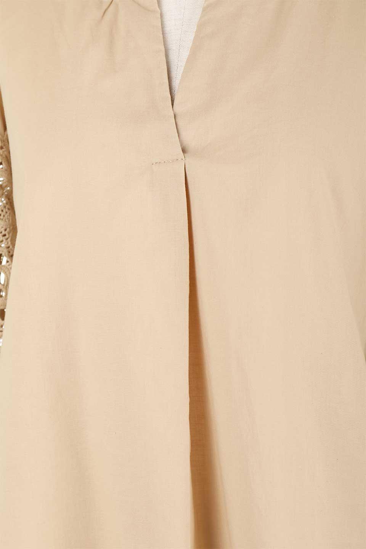 CutworkSleeveBlouseカットワークスリーブ・9分袖ブラウス大人カジュアルに最適な海外ファッションのothers(その他インポートアイテム)のトップスやシャツ・ブラウス。袖のカットワークレースが春気分を盛り上げる9分袖ブラウス。ゆったりとしたボックス型のシルエットをカットワークが女性らしく見せてくれます。/main-28