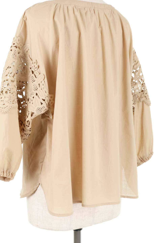 CutworkSleeveBlouseカットワークスリーブ・9分袖ブラウス大人カジュアルに最適な海外ファッションのothers(その他インポートアイテム)のトップスやシャツ・ブラウス。袖のカットワークレースが春気分を盛り上げる9分袖ブラウス。ゆったりとしたボックス型のシルエットをカットワークが女性らしく見せてくれます。/main-29