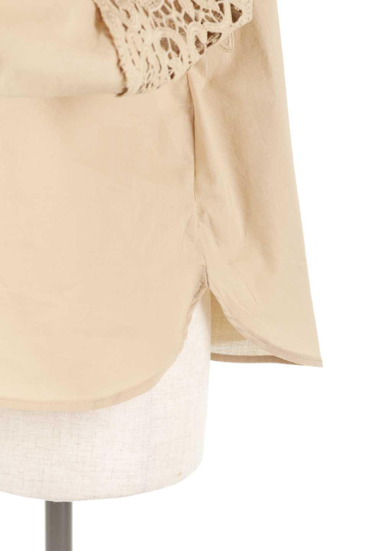 CutworkSleeveBlouseカットワークスリーブ・9分袖ブラウス大人カジュアルに最適な海外ファッションのothers(その他インポートアイテム)のトップスやシャツ・ブラウス。袖のカットワークレースが春気分を盛り上げる9分袖ブラウス。ゆったりとしたボックス型のシルエットをカットワークが女性らしく見せてくれます。/main-33