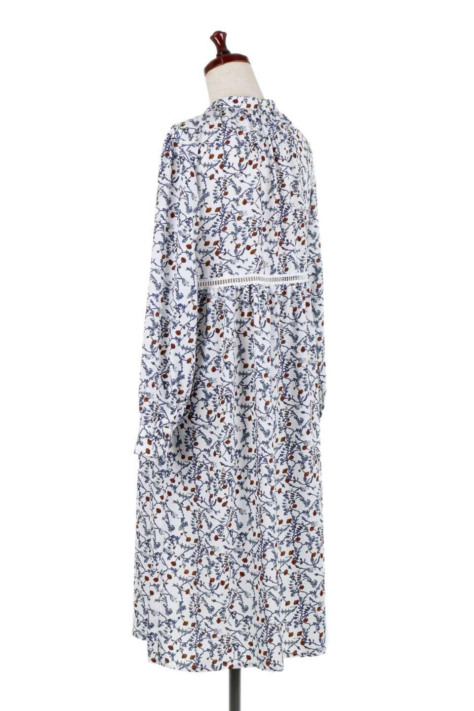 FloralPrintedLongSleeveDress小花柄・長袖ワンピース大人カジュアルに最適な海外ファッションのothers(その他インポートアイテム)のワンピースやミディワンピース。オールシーズン着回せる小花柄のワンピース。ゆったりサイズですが袖が細めなので案外スッキリしたイメージです。/main-8