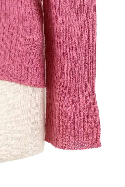 2-Way&4-SeasonsRibbedKnitTop2Wayリブニット大人カジュアルに最適な海外ファッションのothers(その他インポートアイテム)のトップスやニット・セーター。応用力抜群のリブニットトップス。程よくタイトなシルエットで前後どちらでも着れるスグレモノ。/main-32