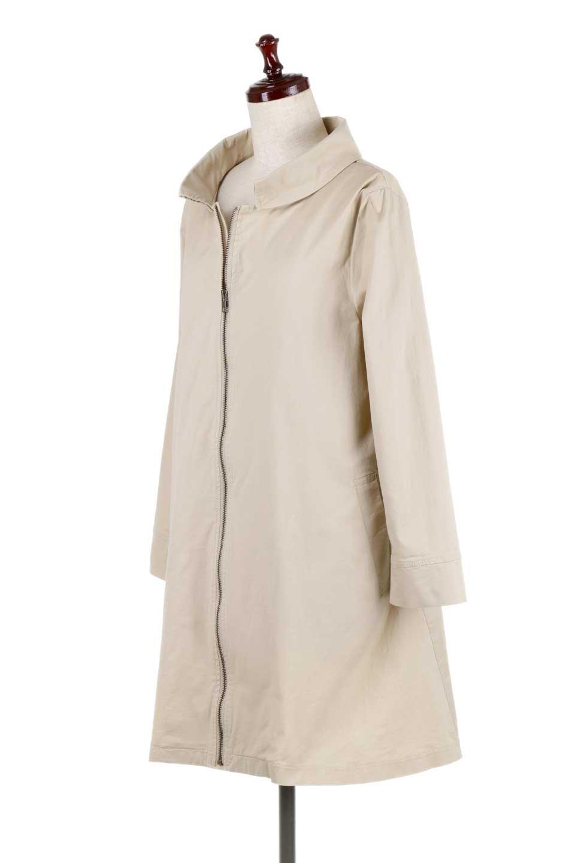 StandCollarStretchSpringCoatストレッチコットン・スプリングコート大人カジュアルに最適な海外ファッションのothers(その他インポートアイテム)のアウターやコート。ストレッチの効いたコットン素材がで着心地抜群のスプリングコート。ナチュラルなコットン素材でシワ感もそのまま楽しめるカジュアルなアイテム。/main-1