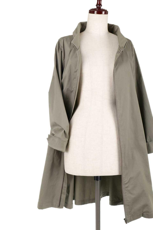 StandCollarStretchSpringCoatストレッチコットン・スプリングコート大人カジュアルに最適な海外ファッションのothers(その他インポートアイテム)のアウターやコート。ストレッチの効いたコットン素材がで着心地抜群のスプリングコート。ナチュラルなコットン素材でシワ感もそのまま楽しめるカジュアルなアイテム。/main-18