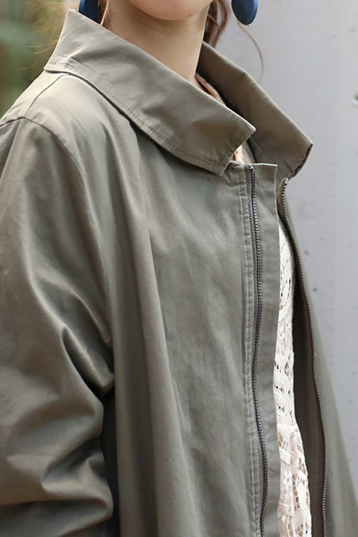 StandCollarStretchSpringCoatストレッチコットン・スプリングコート大人カジュアルに最適な海外ファッションのothers(その他インポートアイテム)のアウターやコート。ストレッチの効いたコットン素材がで着心地抜群のスプリングコート。ナチュラルなコットン素材でシワ感もそのまま楽しめるカジュアルなアイテム。/main-19