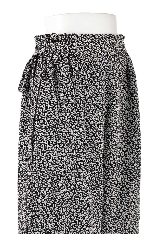 FloralPrintedWidePants小花柄ワイドパンツ大人カジュアルに最適な海外ファッションのothers(その他インポートアイテム)のボトムやパンツ。根強い人気の小花柄が可愛いワイドパンツ。ウエストは楽ちんなゴム仕様。/main-11