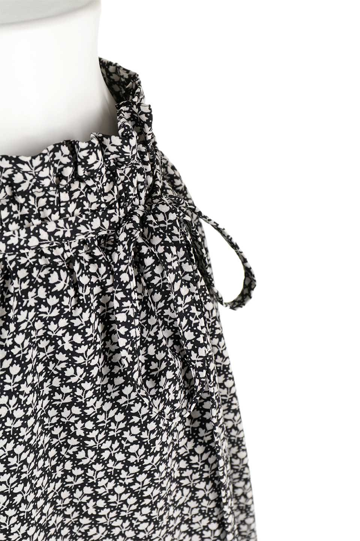 FloralPrintedWidePants小花柄ワイドパンツ大人カジュアルに最適な海外ファッションのothers(その他インポートアイテム)のボトムやパンツ。根強い人気の小花柄が可愛いワイドパンツ。ウエストは楽ちんなゴム仕様。/main-14
