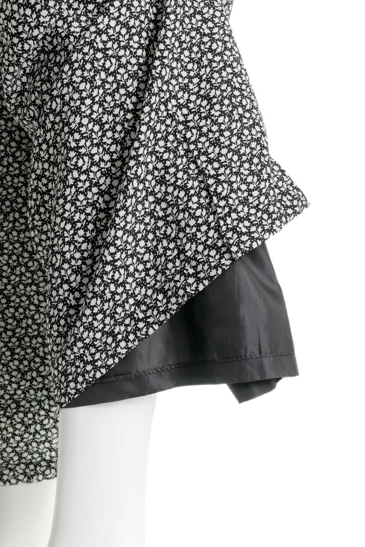 FloralPrintedWidePants小花柄ワイドパンツ大人カジュアルに最適な海外ファッションのothers(その他インポートアイテム)のボトムやパンツ。根強い人気の小花柄が可愛いワイドパンツ。ウエストは楽ちんなゴム仕様。/main-15