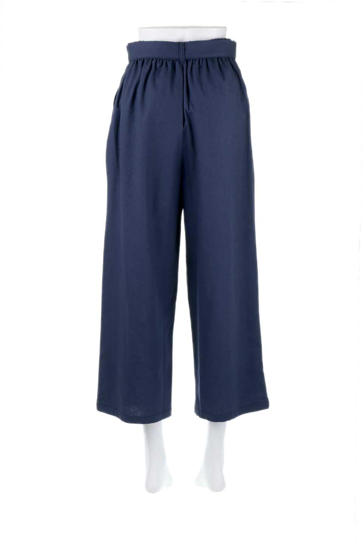 CroppedWidePantsベルト付き・クロップドワイドパンツ大人カジュアルに最適な海外ファッションのothers(その他インポートアイテム)のボトムやパンツ。コットンのざっくり生地のワイドパンツ。太めで短め。/main-14