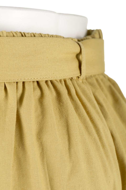 CroppedWidePantsベルト付き・クロップドワイドパンツ大人カジュアルに最適な海外ファッションのothers(その他インポートアイテム)のボトムやパンツ。コットンのざっくり生地のワイドパンツ。太めで短め。/main-19