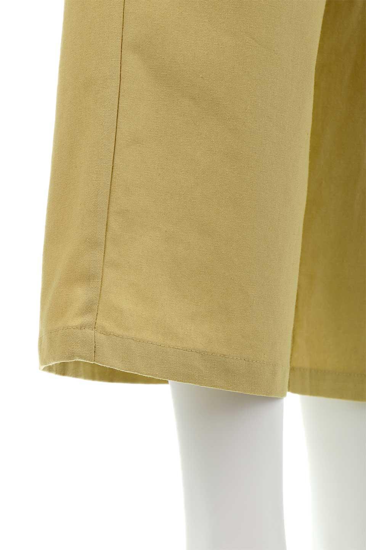 CroppedWidePantsベルト付き・クロップドワイドパンツ大人カジュアルに最適な海外ファッションのothers(その他インポートアイテム)のボトムやパンツ。コットンのざっくり生地のワイドパンツ。太めで短め。/main-21