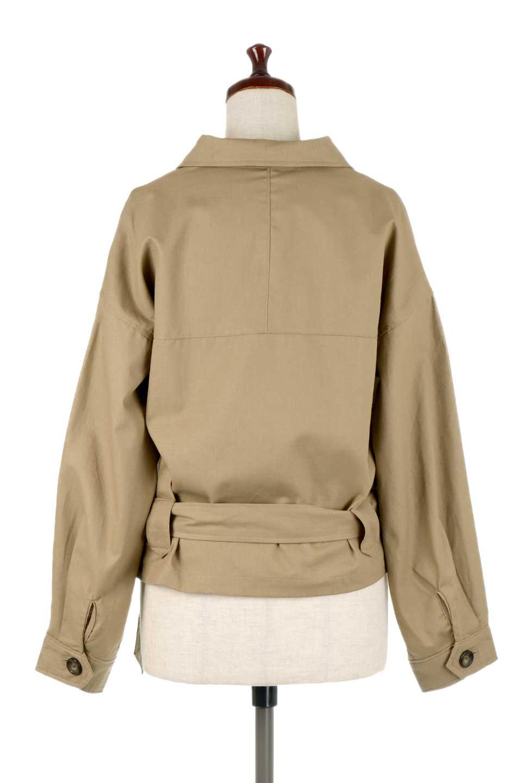 OversizedSafariJacketオーバーサイズ・サファリジャケット大人カジュアルに最適な海外ファッションのothers(その他インポートアイテム)のアウターやジャケット。ショート&オーバーサイズなコットン・サファリジャケット。しっかりしたシャツジャケットのような着心地でこの時期に最適な1枚です。/main-14