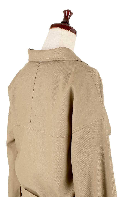 OversizedSafariJacketオーバーサイズ・サファリジャケット大人カジュアルに最適な海外ファッションのothers(その他インポートアイテム)のアウターやジャケット。ショート&オーバーサイズなコットン・サファリジャケット。しっかりしたシャツジャケットのような着心地でこの時期に最適な1枚です。/main-17