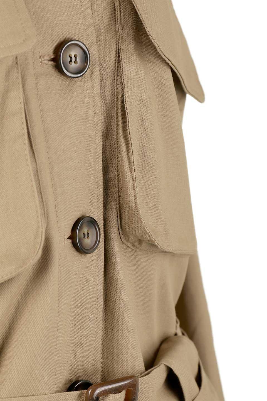 OversizedSafariJacketオーバーサイズ・サファリジャケット大人カジュアルに最適な海外ファッションのothers(その他インポートアイテム)のアウターやジャケット。ショート&オーバーサイズなコットン・サファリジャケット。しっかりしたシャツジャケットのような着心地でこの時期に最適な1枚です。/main-20
